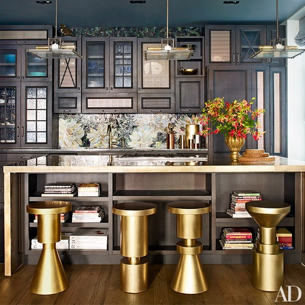 Chrissy Teigan John Legend NYC Kitchen