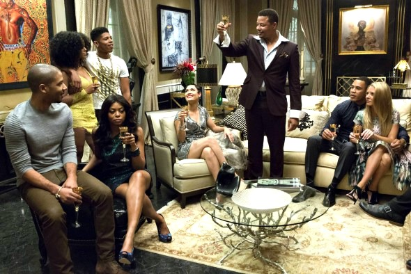 Lucious gathers the family to celebrate the success of Hakeem's song. {photo courtesy Fox.com}