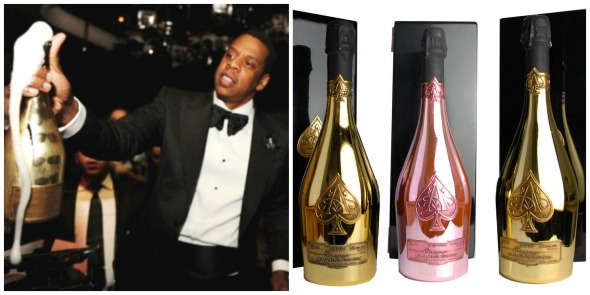 Armand de Brignac Jay Z Collage