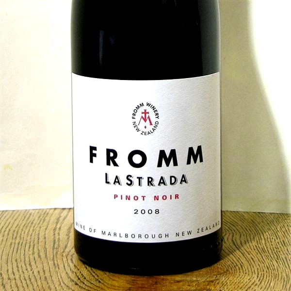 Fromm La Strada Pinot Noir {image courtesy of Otago Daily Times wine review}
