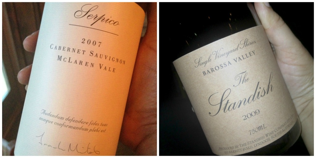 Lovely Cabernet Suavignons: The Mitolo Serpico and The Standish