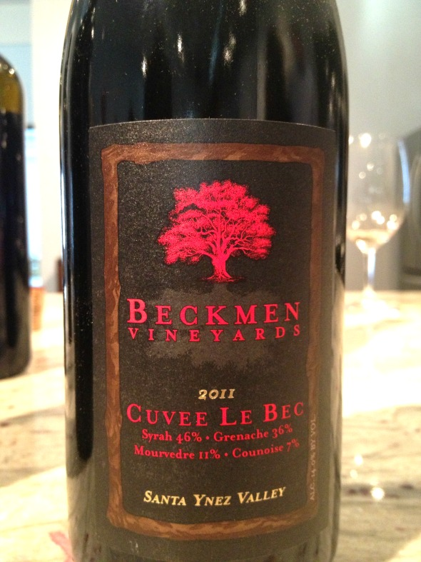 Drinking this luscious red was almost like biting into a ripe, juicy blackberry. {photo credit Davon D. E . Hatchett}