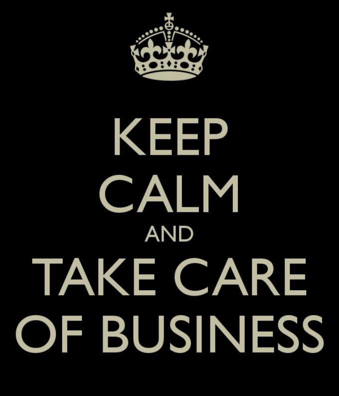 TCB (keep calm)