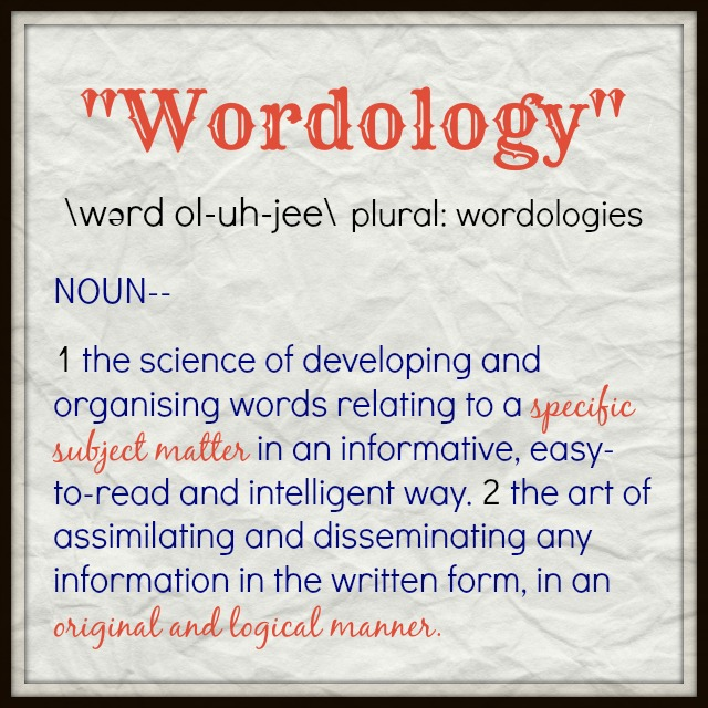 Wordology definition