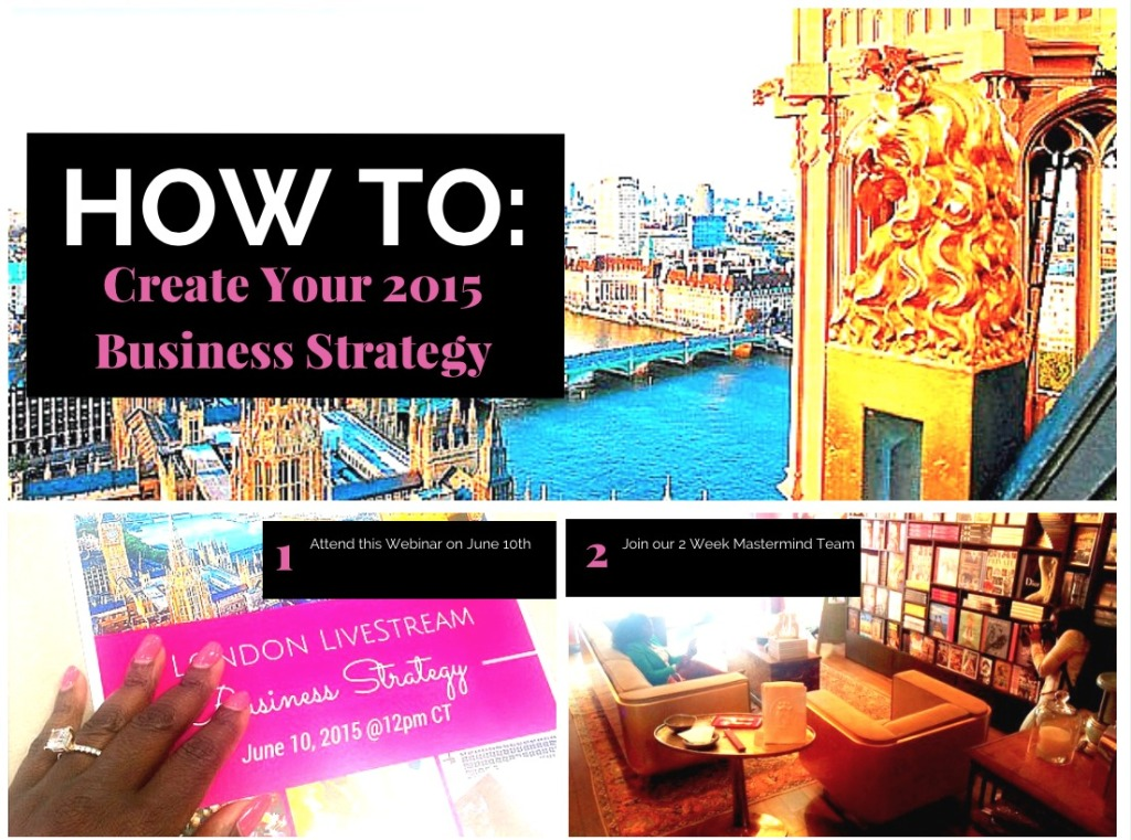 Women CEO Project's Create Your 2015 Business Strategy