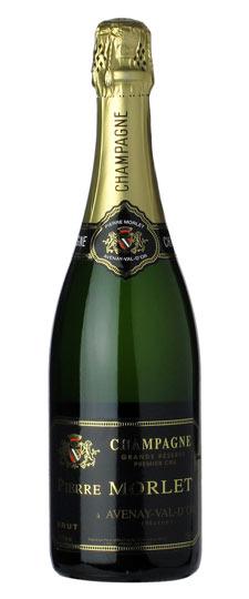 Pierre Morlet champagne bottle