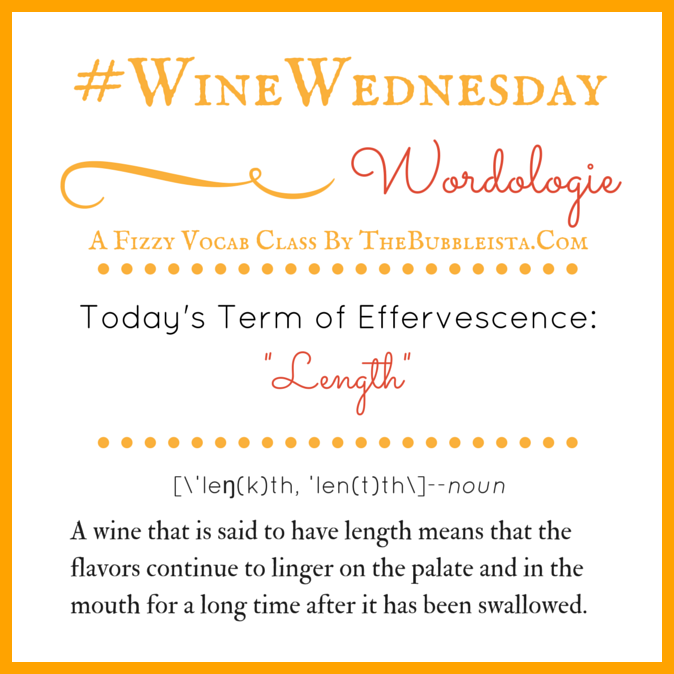 Wine Wed Word Length