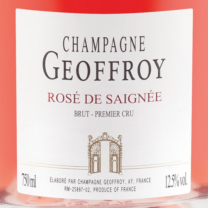 Champagne Geoffory Saignee
