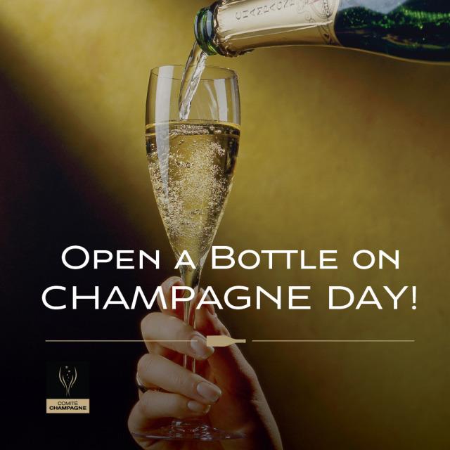 Champagne Day ecard