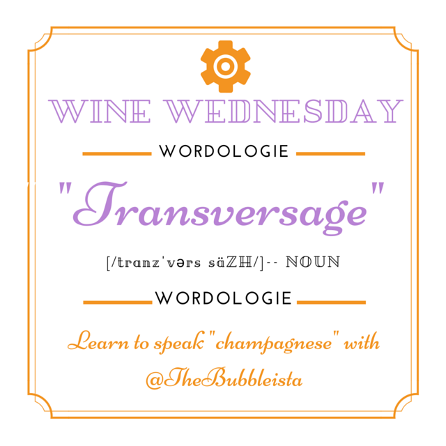 Wine Wed Word Transversage gen