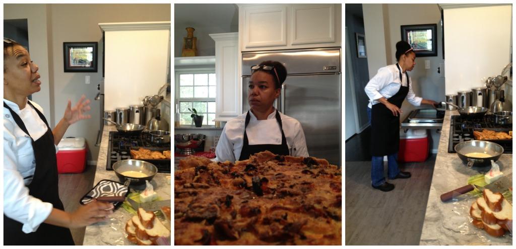 Chef Dawn Sloan Collage