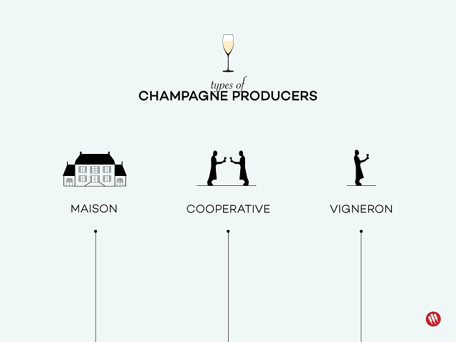 Types of Champagne Producers