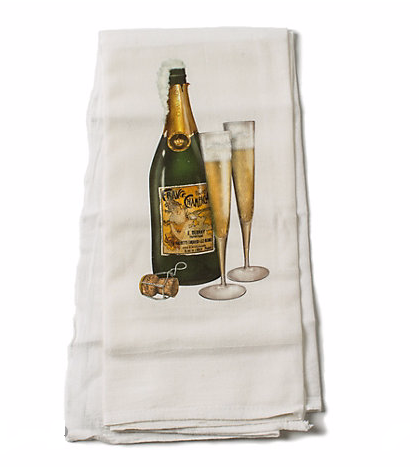Gumps champagne towel 2