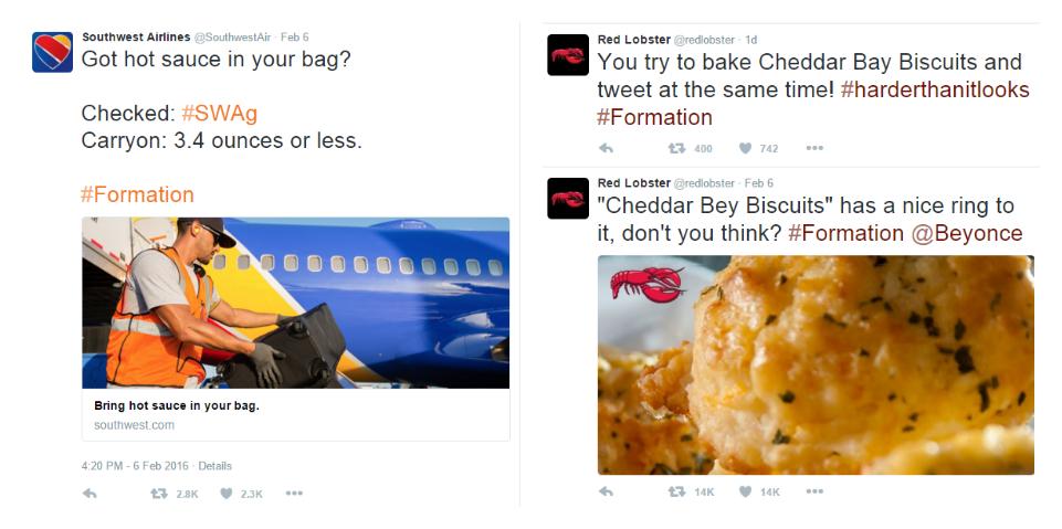Bey Formation tweet Collage