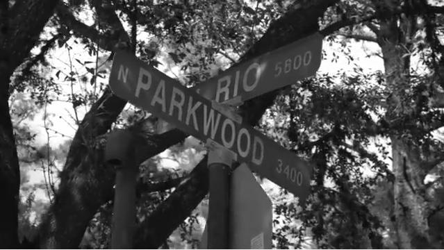 Beyonce Parkwood street sign