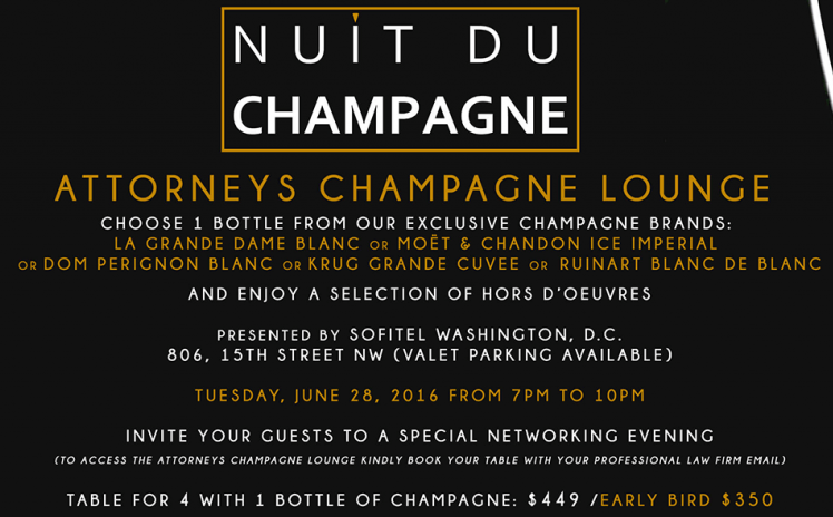 Nuit du Champ Attorney Lounge