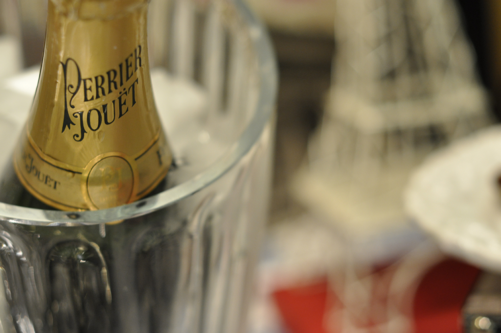 Bastille Day (Perrier Jouet close up)