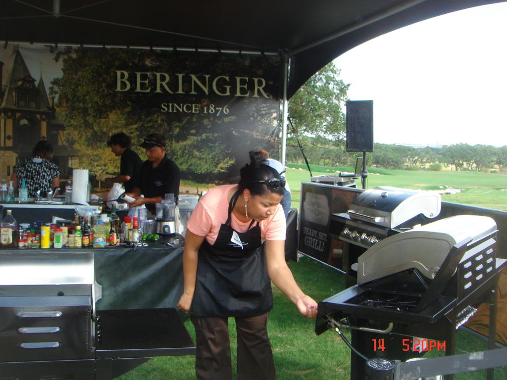 Beringer 3 (Davon at grill bending)