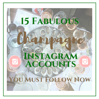 Champagne Instagram Accounts graphic