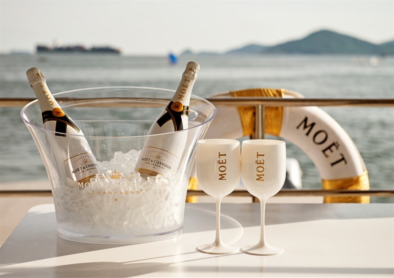 Moet Ice Imperial Bubbles Bar Liverpool