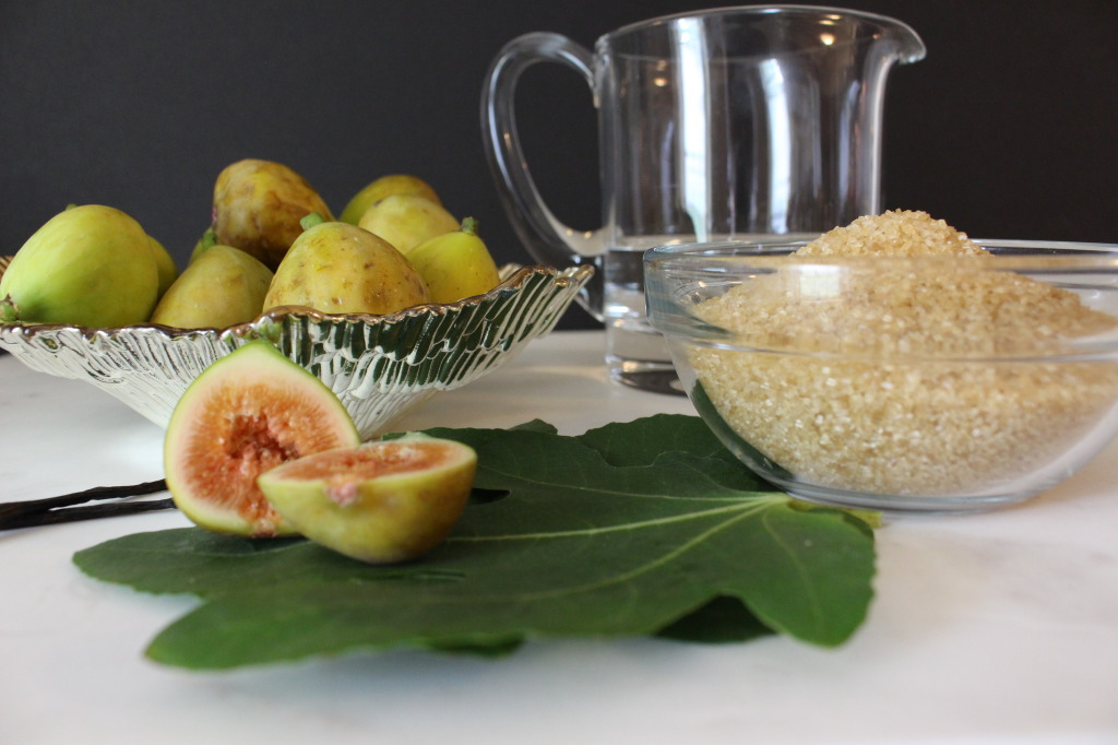Fig Sim Syrup Ingredients