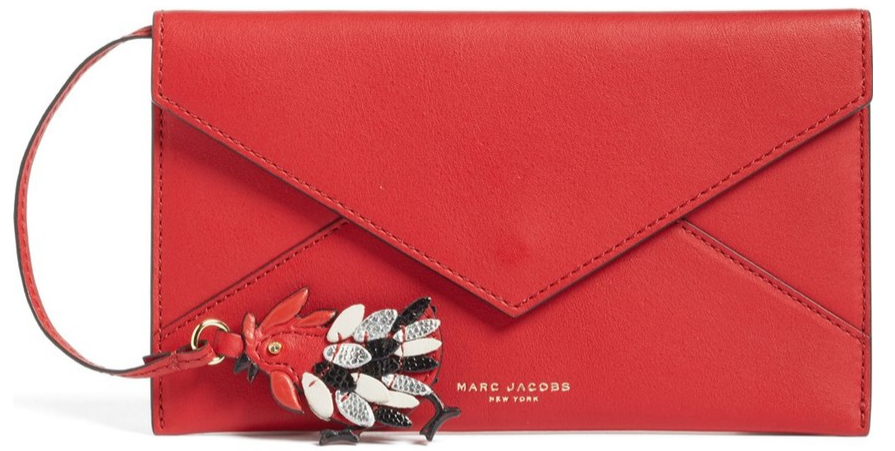 Year of the Rooster Marc Jacobs Red envelope clutch