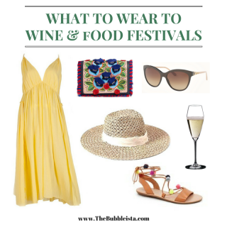 WHAT TO WEAR TO WINE AND FOOD FESTIVALS