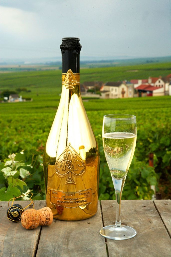 Armand de Brignac champagne and vineyards