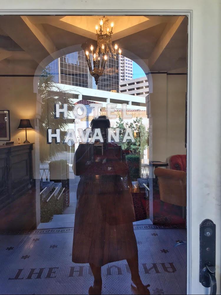 Hotel Havana (front door)