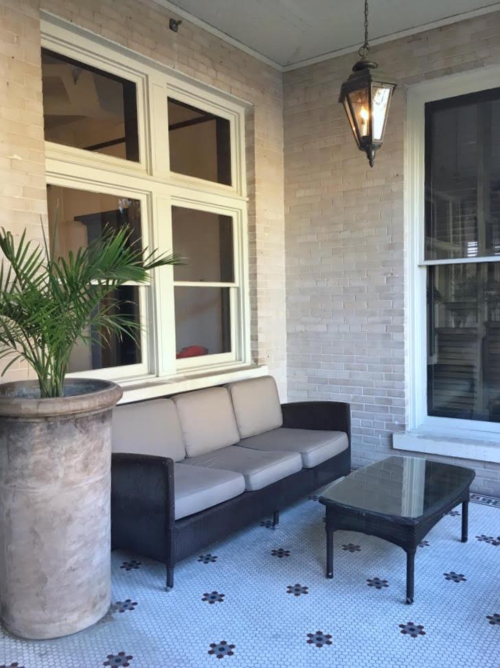 Hotel Havana (front porch sitting)