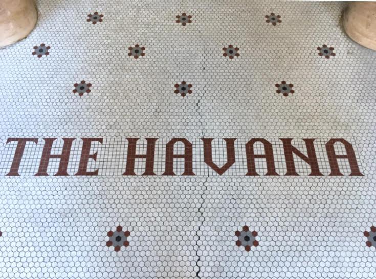 Hotel Havana (front tilework)