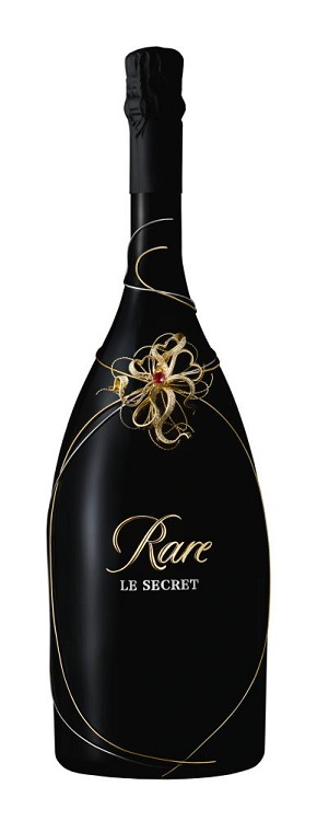 Gift Guide IV Rare le Secret champers bottle wht bckgd