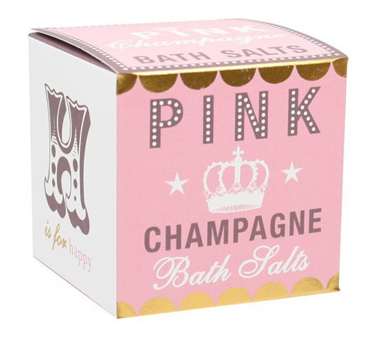 Gift Guide IV pink champagne bath salts