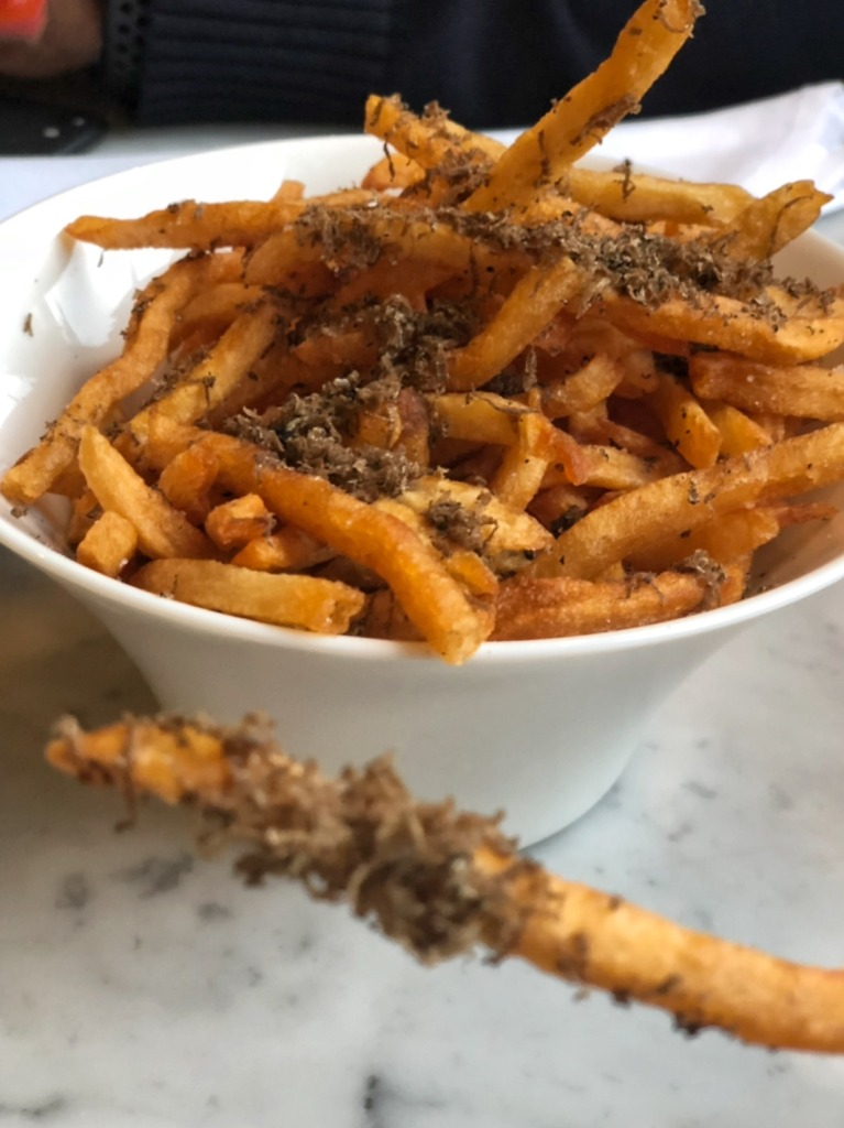 Truffle fries from Effervescence NOLA