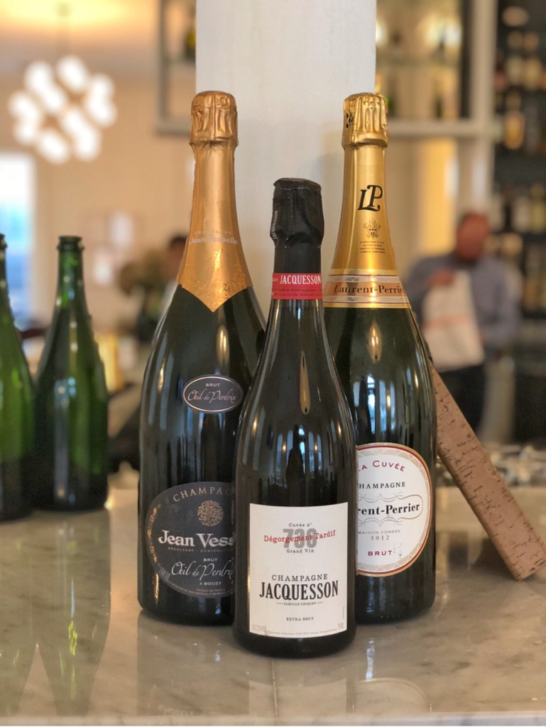 Jean Vesselle, Jacquesson, and Laurent Perrier