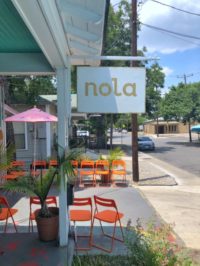 NOLA SA signage