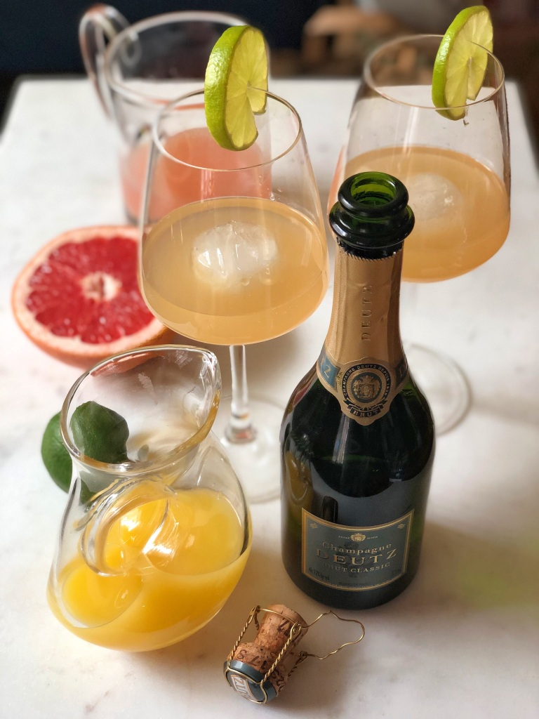 PALOMIMOSA-cocktails and Deutz champagne