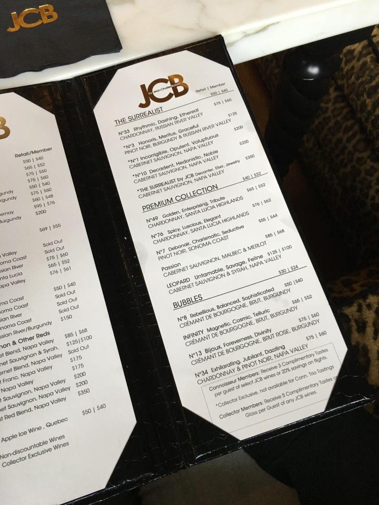 JCB SALON 8 (JCB menu)