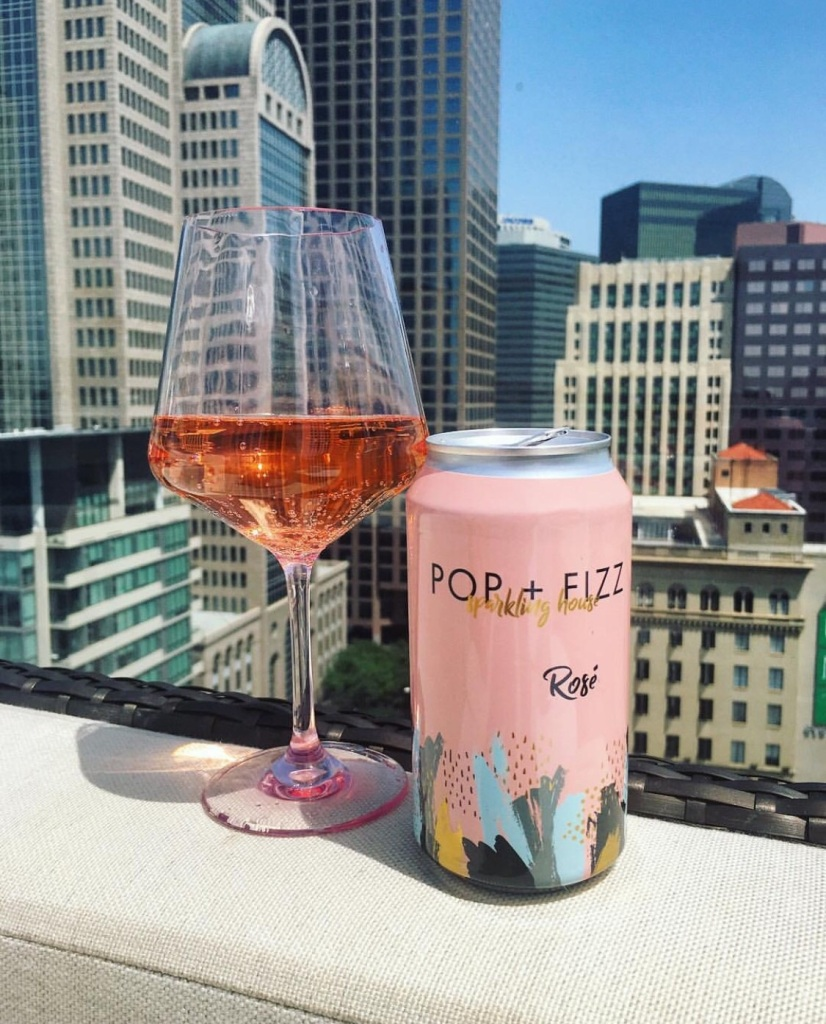 Canned Wine pic POP AND FIZZ ROSE
