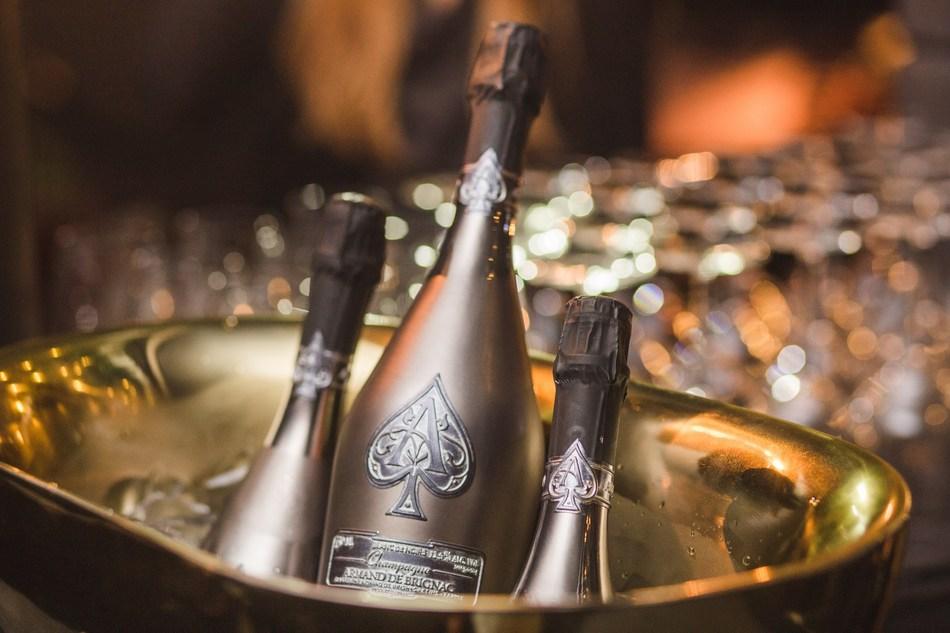 Champagne Armand de Brignac Blanc de Noirs Assemblage Three Front