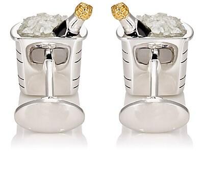 Jan Leslie Champagne Bucket cufflinks