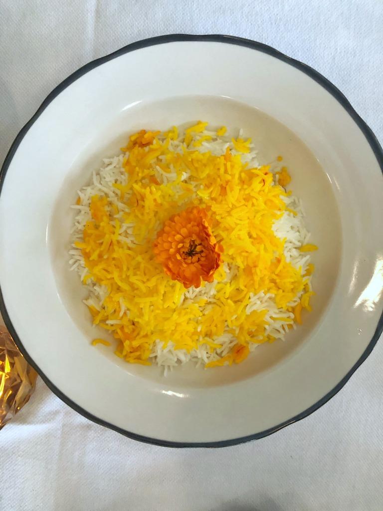 AME Saffron rice